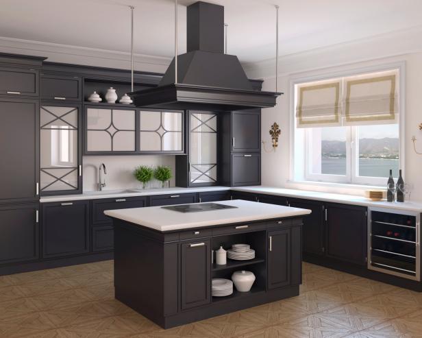 Open kitchen ideas open black kitchen RIDAJGS
