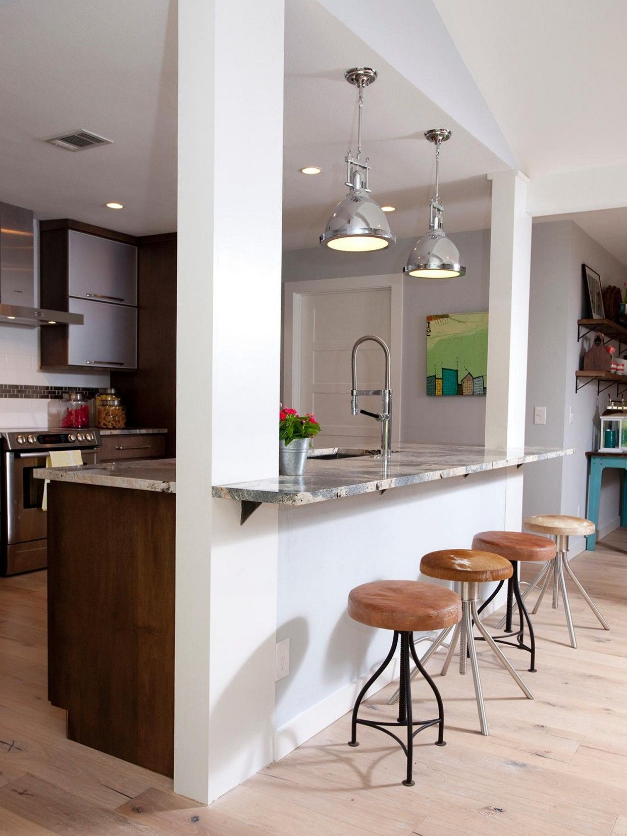 Open kitchen ideas open concept kitchen with half wall ideas GUYTQUT