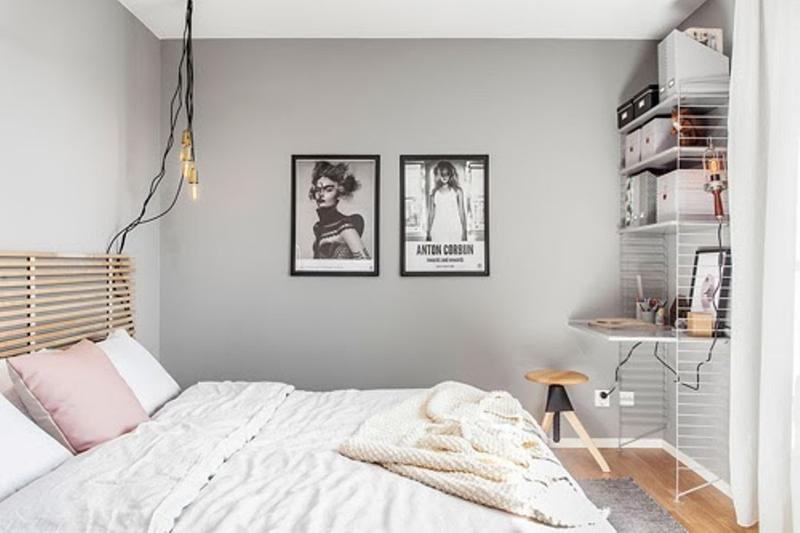 pastel color wall paint modern pastel gray bedroom GGHRYQY