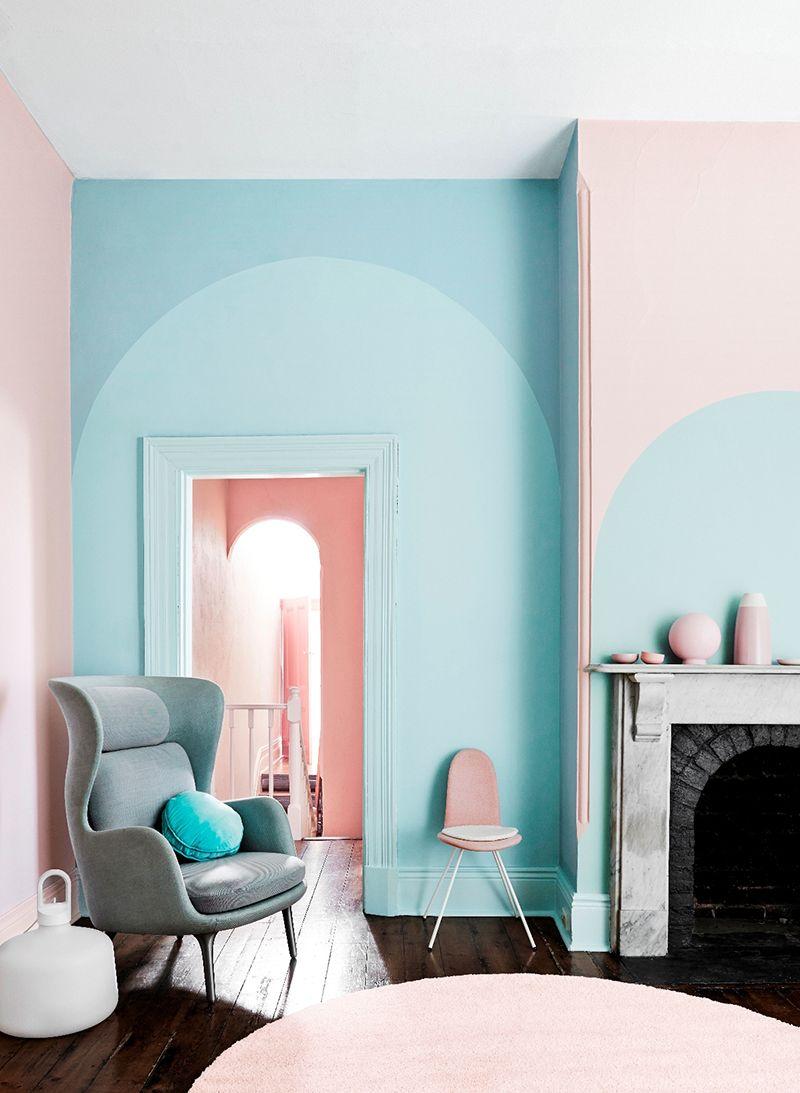 pastel color wall paint pantone 2016 : entre rose quartz et bleu serenité, mon cœur balance... more TSESZTD
