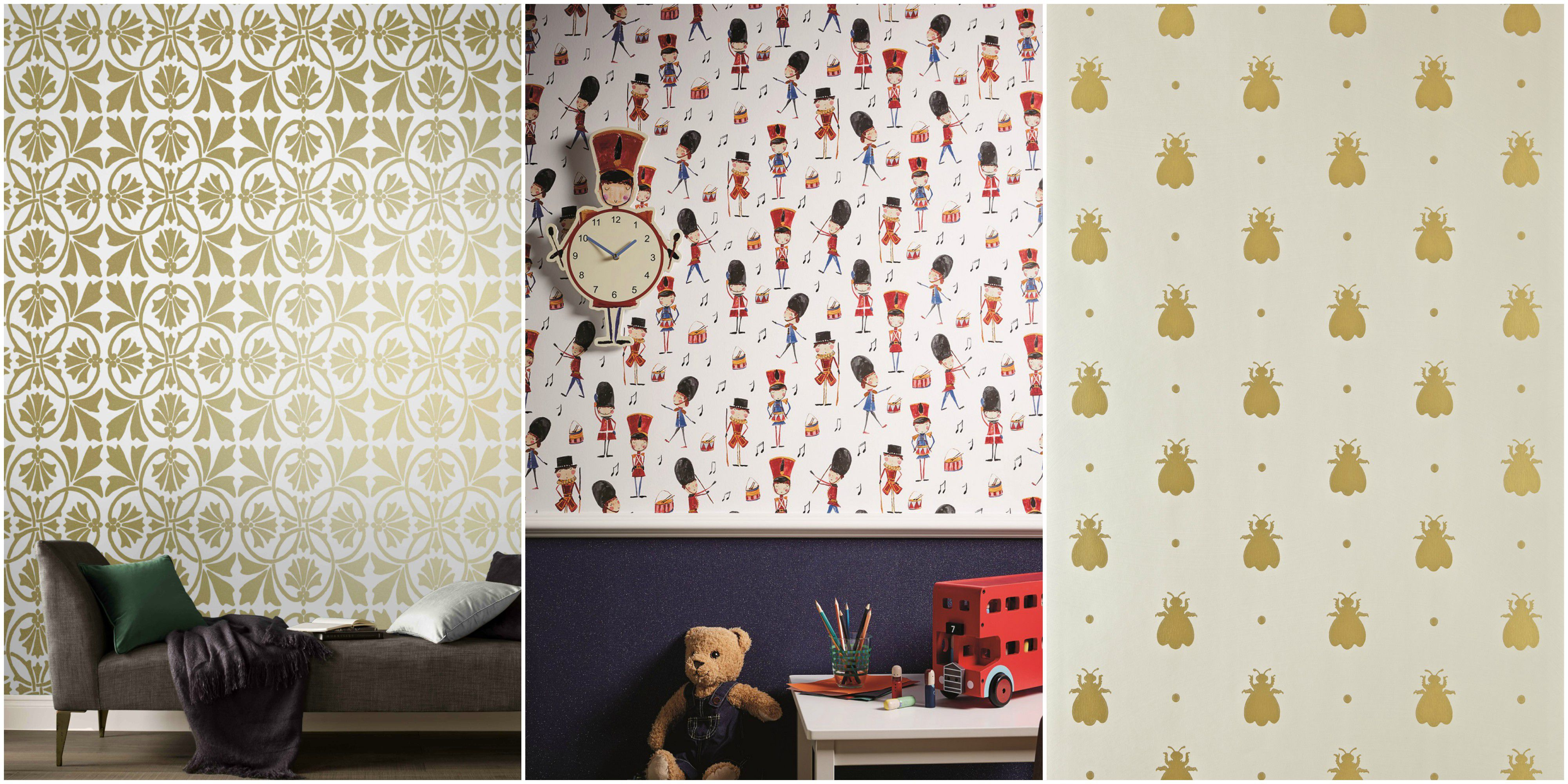 royal nursery wallpaper ideas QXIJGYX