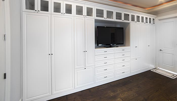 Storage wall units custom wall unit storage system for the bedroom includes a place for  everything BXABNWD