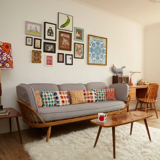 vintage living room decor retro living room   traditional decorating ideas   style at home    housetohome.co.uk VNVIZEC