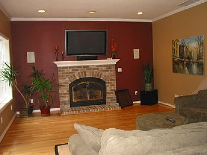 Wall Colors Ideas accent wall paint colors ideas painted accent walls color for . DHZRMAA
