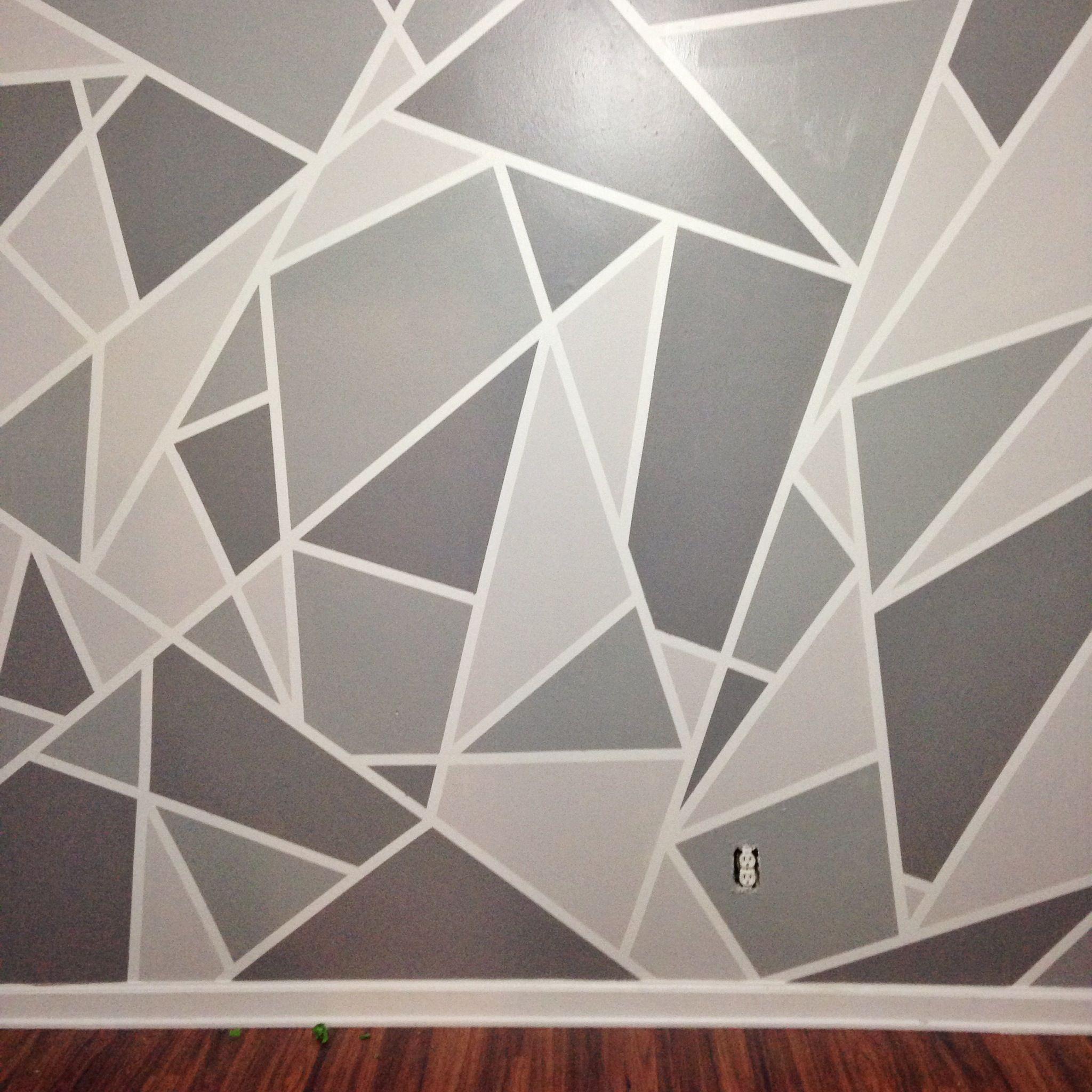 Wall design faux+wallpaper+diys painting wall designs, paint wall design, wall painting  patterns MUWTXWU