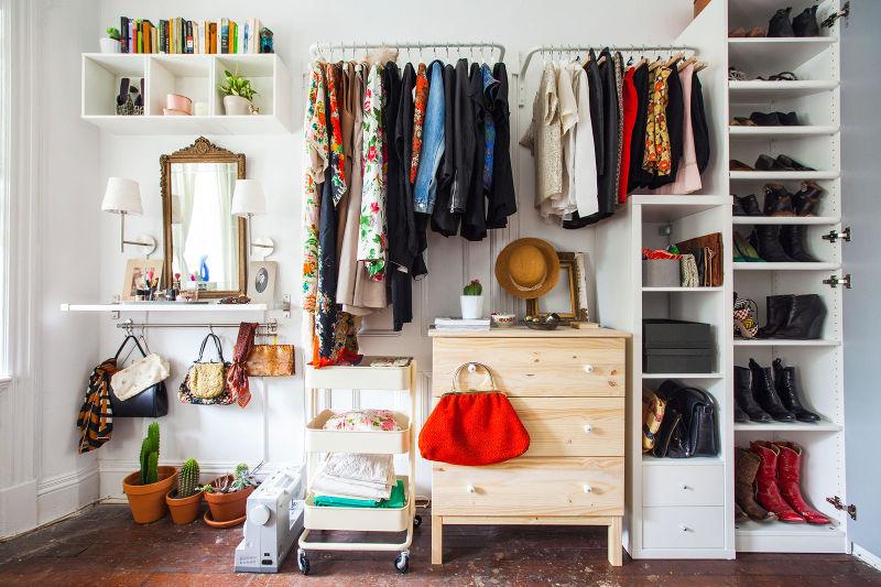Wardrobe Ideas no closet replacement YDNZPUZ