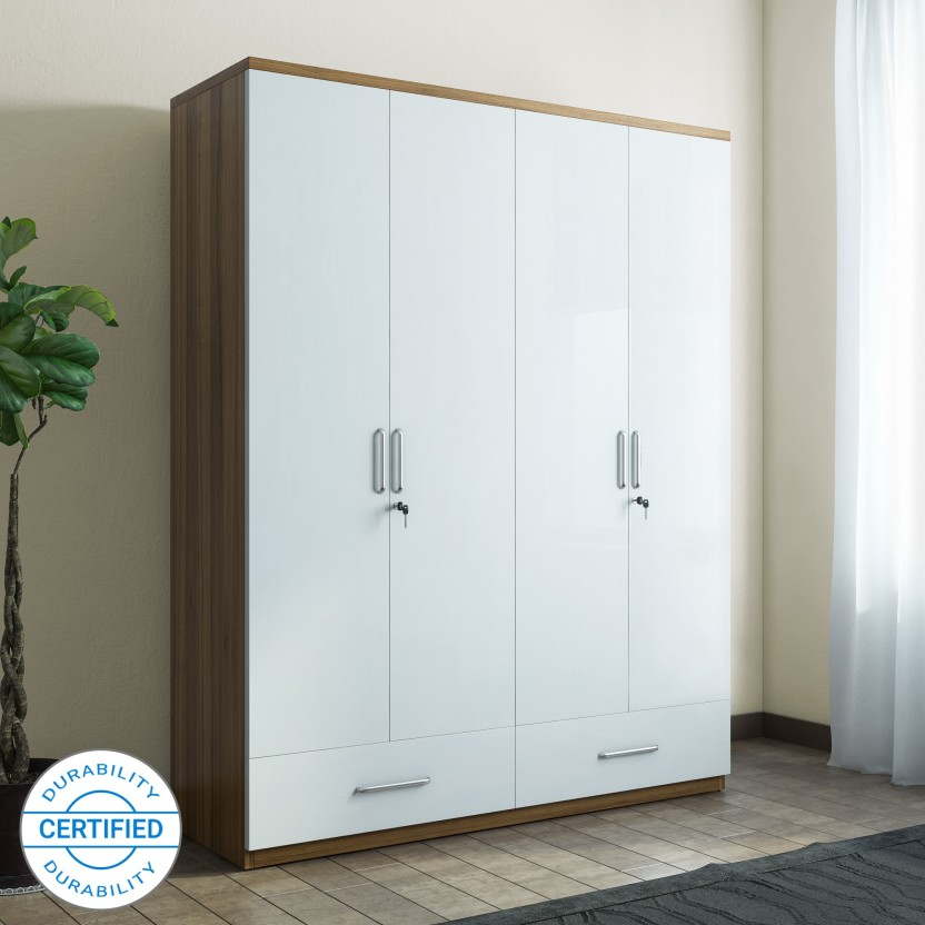 Wardrobe spacewood apex engineered wood 4 door wardrobe ZGOCHRW