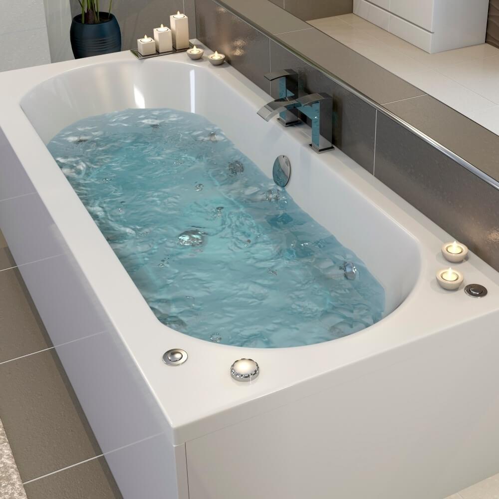 Whirlpool bath instead of bathtub