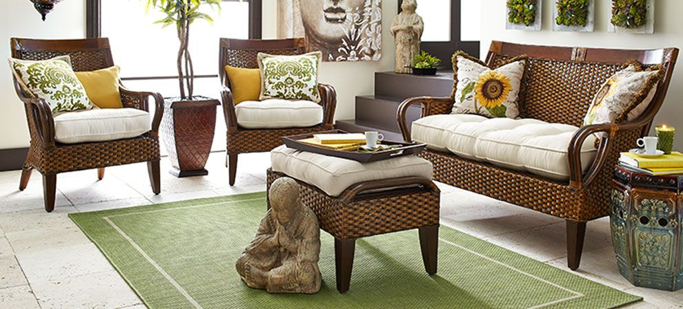 Wicker furniture is socially acceptable