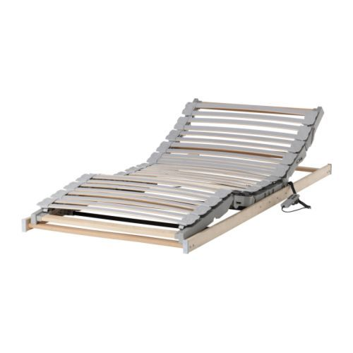 Adjustable slatted frames $300 - electric motor with remote control adjusts head and foot sections. ESCAQAN