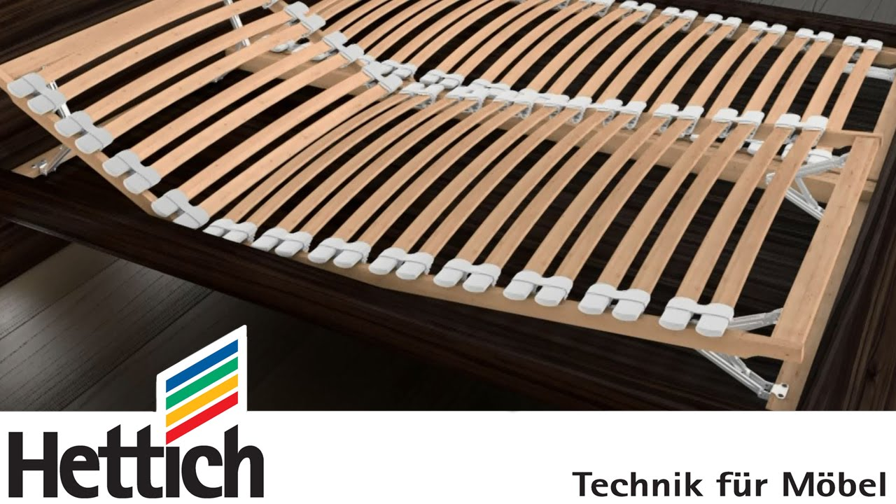 Adjustable slatted frames hettich multiflex: adjustable fitting for head- and foot sections of slatted  bed AUJLMSW