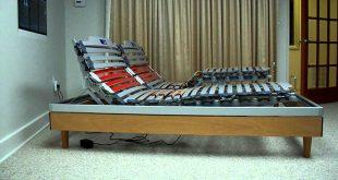 Adjustable slatted frames nottinblu ego wood slat frame bed adjustable sleep system electric box  spring MYNGXAS