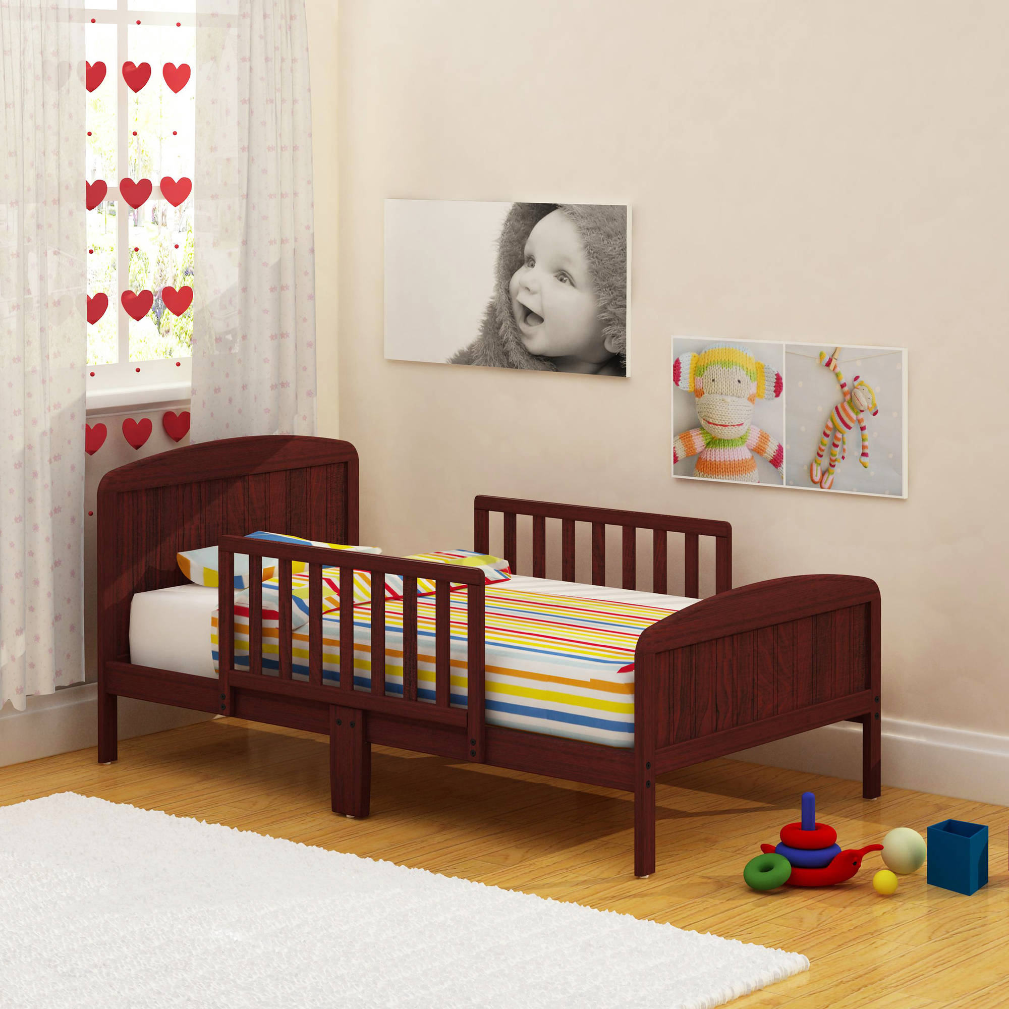 Sleeping places for little rascals with a lot of fun: Beds for 4-years-old