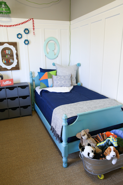 Child-friendly sleeping places for little explorers: Beds for 5