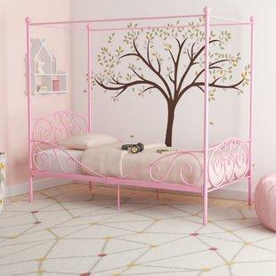 Beds for girls biggerstaff canopy bed KNNSULF