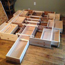 beds with under drawer storage under bed storage ideas FENEMGK