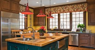 colorful kitchen photo by: photography by alec marshall VTMASJR