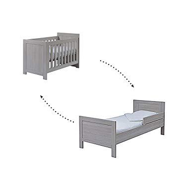 Cots 120×200 cm progressive cot 60 x 120 - 200 cm twf florida - grey WAYPECM