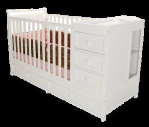 cribs with storage underneath good storage ... NASDZNZ