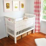 Use the space in your offspring's room perfectly: cribs with storage underneath