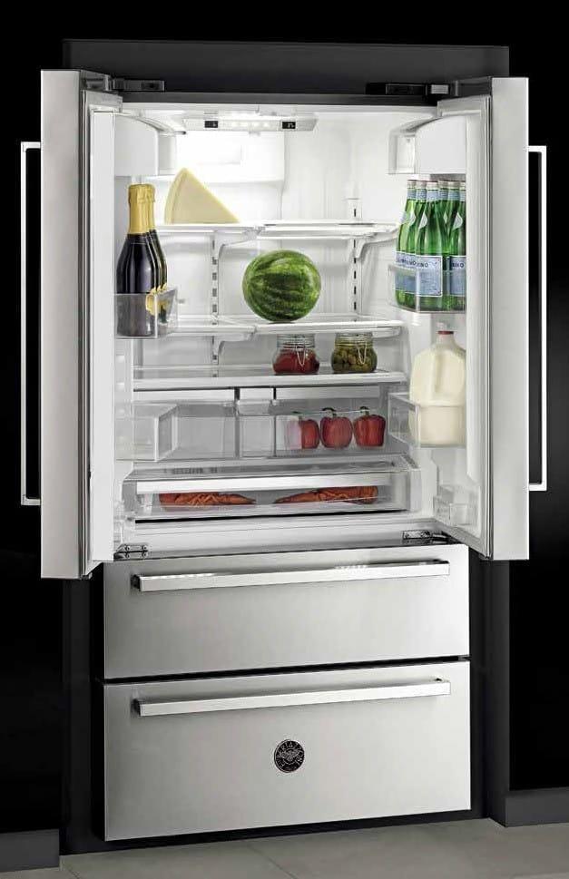 Freestanding refrigerator ... bertazzoni professional series ref36x - lifestyle view DVWJBFF