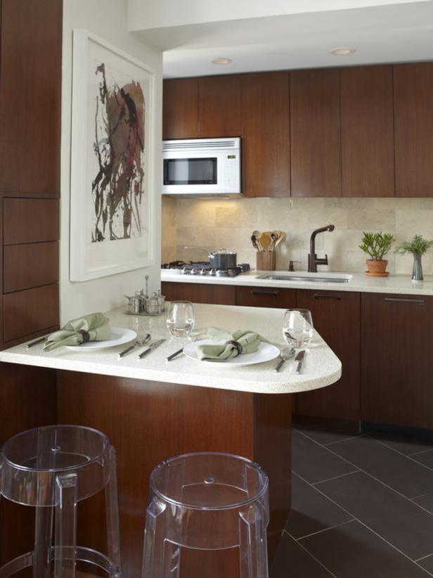 Furnishing tips for small kitchens small-kitchen design tips | diy SZKVWJF