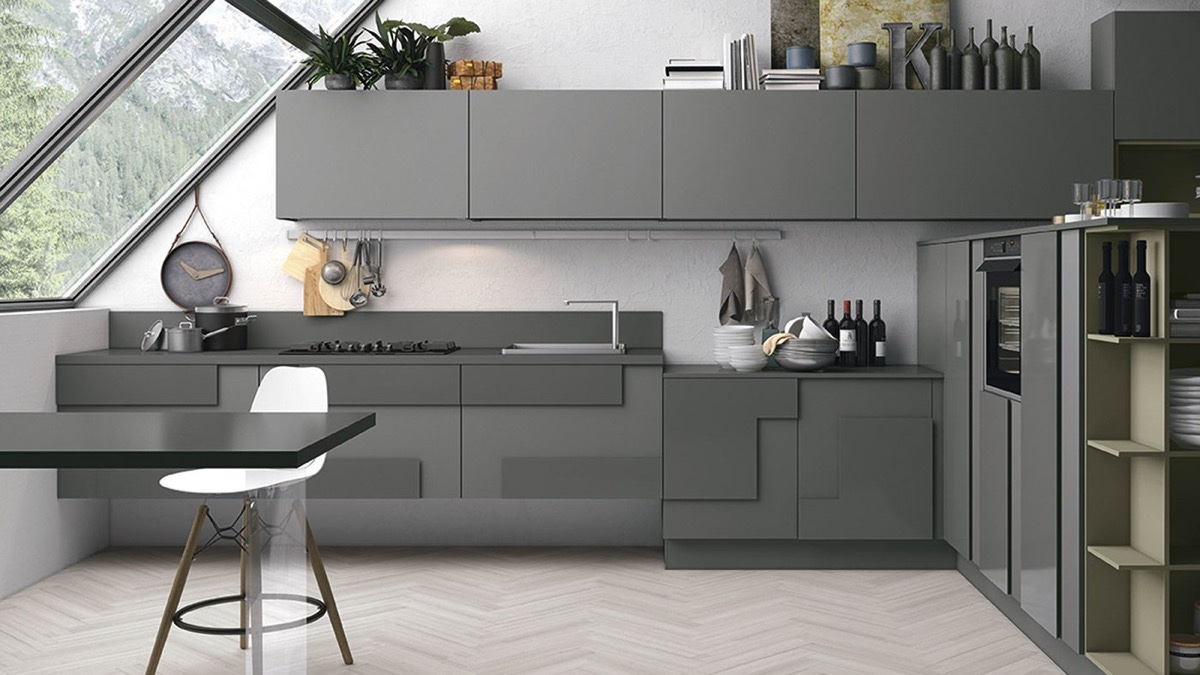 Gray Kitchens 40 gorgeous grey kitchens ETUQKXF