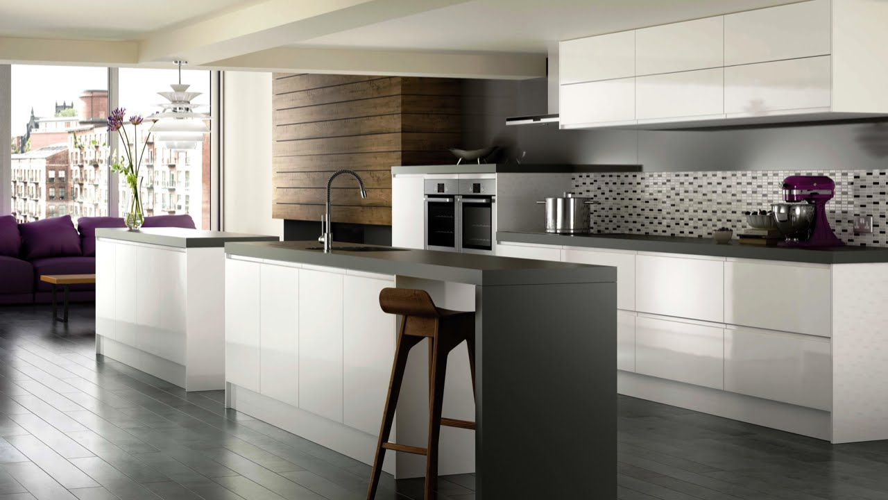 high gloss kitchen cabinets high gloss white modern kitchen cabinets - brands, options u0026 pricing for high GRLXBYI