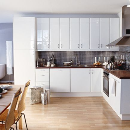 ikea high gloss kitchens kitchen-compare.com - ikea abstrakt high gloss white. high gloss kitchen  cabinets OFEKLJZ