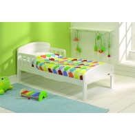 Junior beds east coast country junior/toddler bed-white OTNDFBF