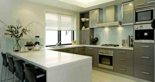 Kitchen in U-shape with bar u shaped kitchen designs with breakfast bar DEGHYSM