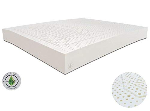 Latex mattresses 100×200 100% natural latex mattress 90 x 200 x 14 cm aloe vera SNPCFCL