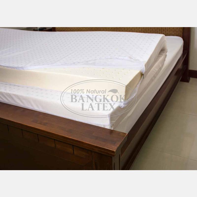 Latex mattresses 120×200 маттress of night harvesting natural latex 120*200*10 cm - photo - 5 EEDHZVO