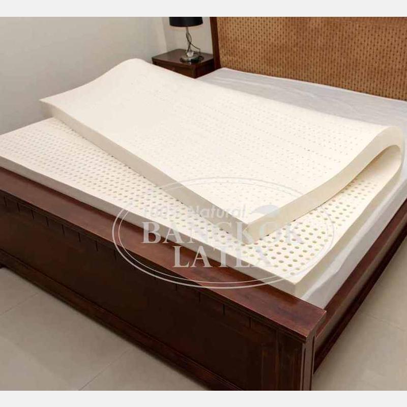 Latex mattresses 140×200 маттress of night harvesting natural latex 140*200*7.5 cm - photo - 6 TYUUKWR