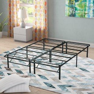 Metal beds in excess length gabriele platform heavy duty metal bed frame RFWLTEK