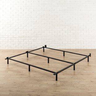 Metal beds in excess length heavy duty adjustable bed frame YZLQYQE