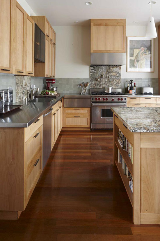 modern wood kitchens modern wooden kitchen designs FCOMRMN