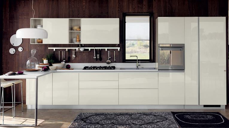 One line kitchens even if you are using just one wall you can find innumerable ideas KLQQGBI