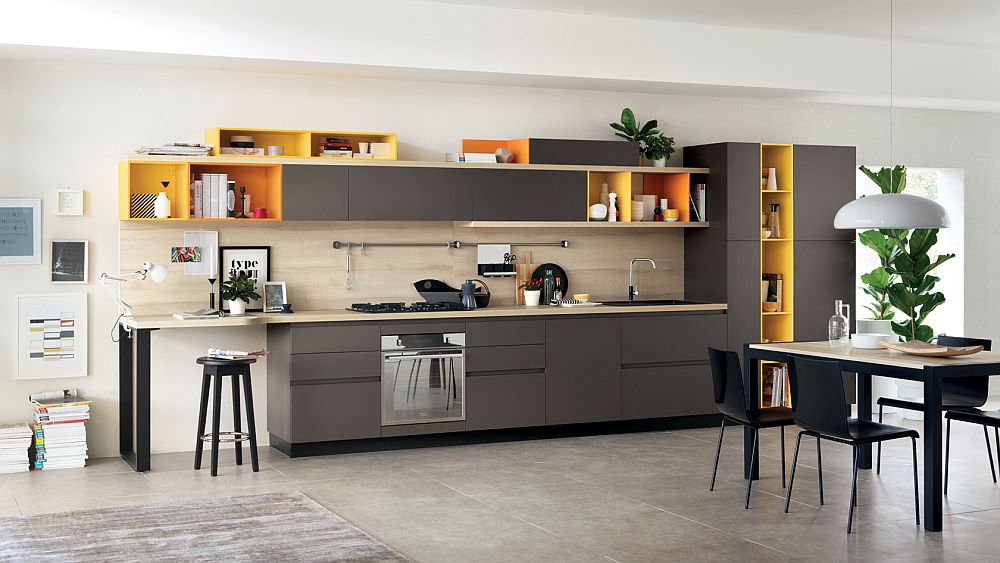 One-line kitchens: advantages, disadvantages, examples and pictures for modern kitchen planning