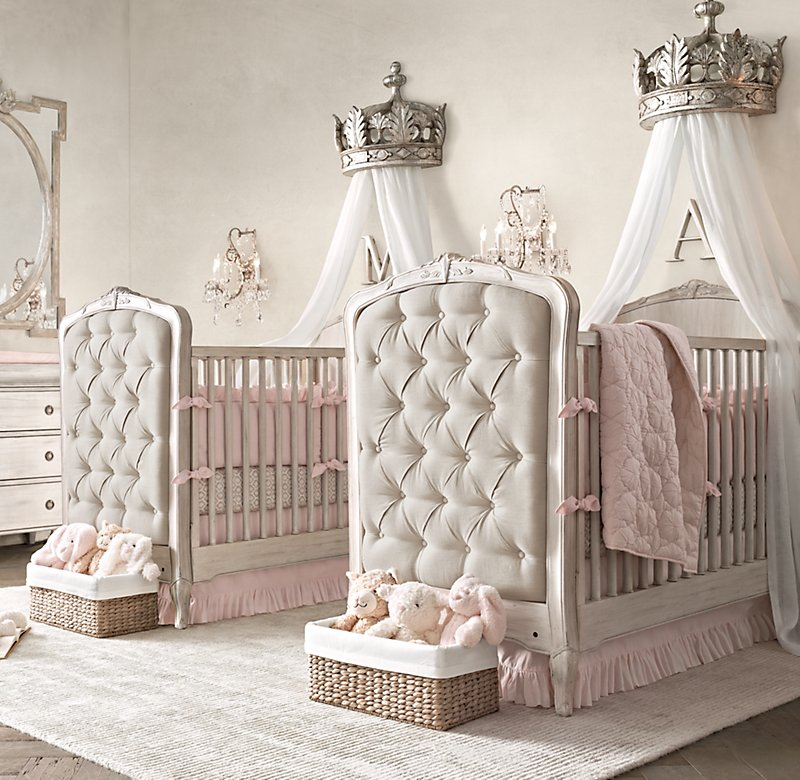 Princess Cots princess-doublehttps-rh-babychild-nursery SWZNRMT