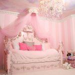 Fallen girl dreams in the nursery: Princess Cots