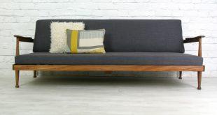 Retro style Sofa beds guy rogers retro vintage teak mid century danish style sofa bed eames era WLUVNQA