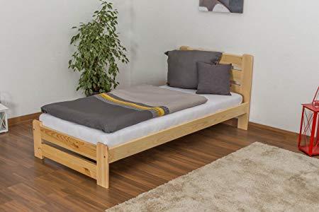 Ergonomically sensible spring suspension for the bedding: Slatted frames in 90×200 cm