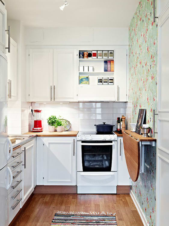 Small kitchens genius kitchens: space saving details for small kitchens | apartment therapy UDLZNLM