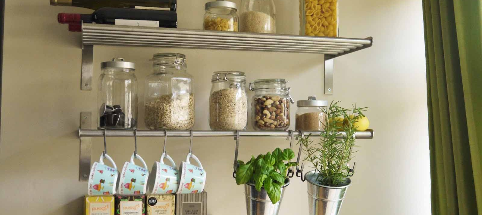 space saving storage ideas for kitchen 7 smart ways to save a ton of space in your small kitchen UWDPVLE
