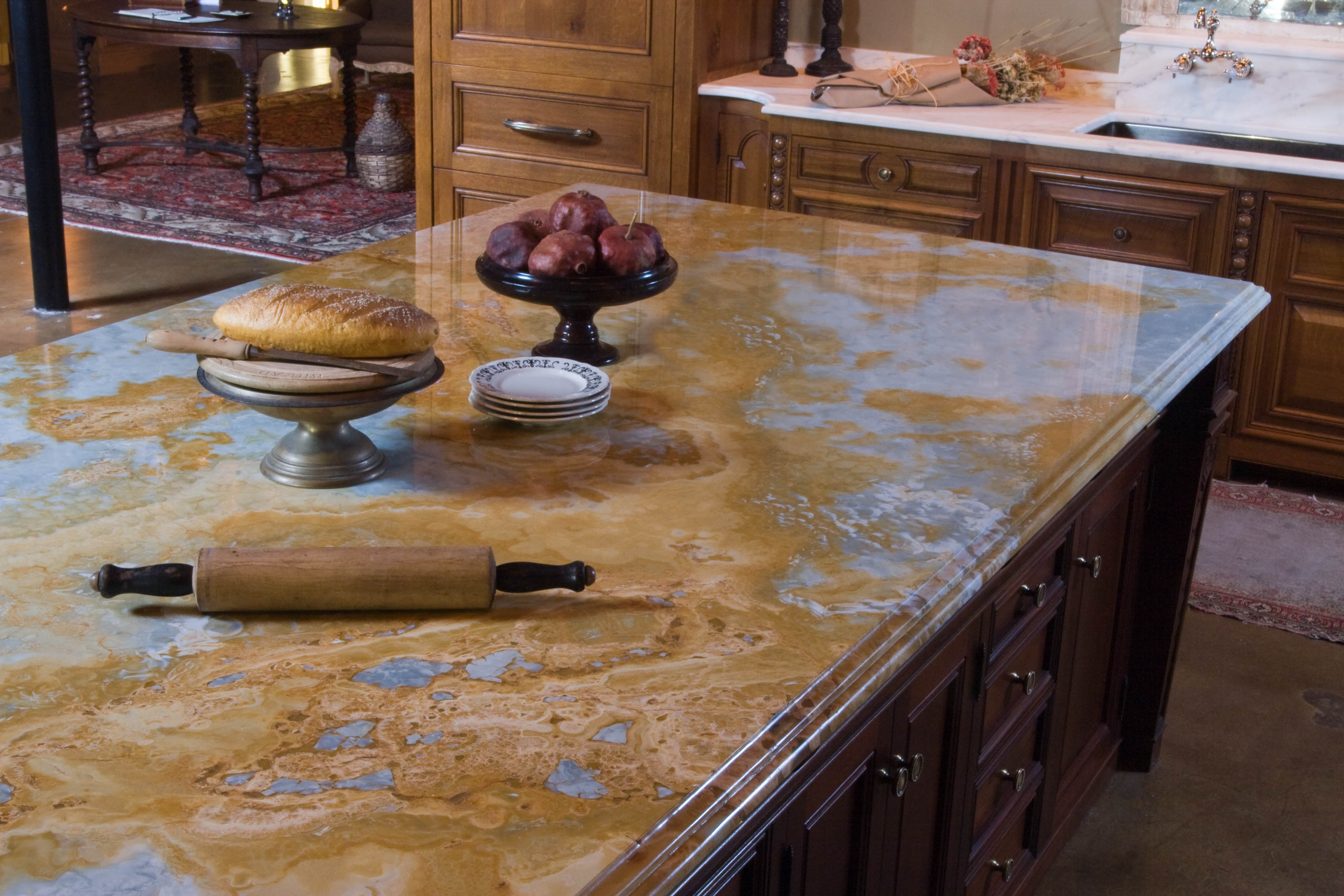 stone countertop kitchen the green choice: natural stone countertops | countertop guides AFTGSFA