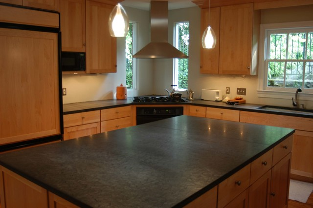 stone countertop kitchen types of stone countertops in clearwater fl - slate TGXMHLG