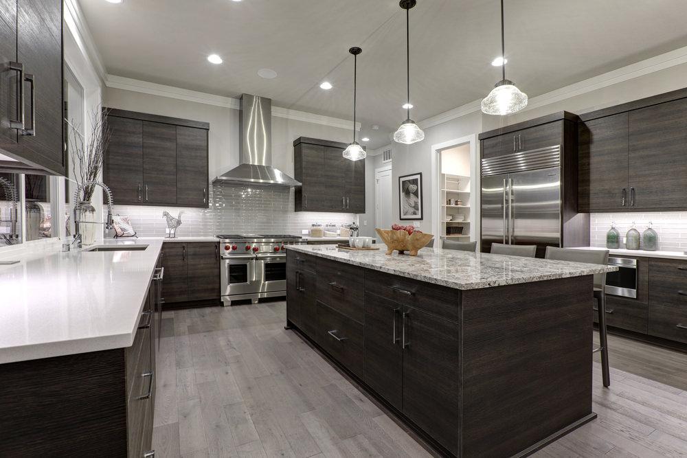 u shaped kitchen layout with island 150 u-shape kitchen layout ideas for 2018 VSZEVNK