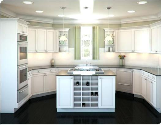 u shaped kitchen layout with island u shaped kitchen designs with island kitchen layouts with island u shaped YKTJSDA