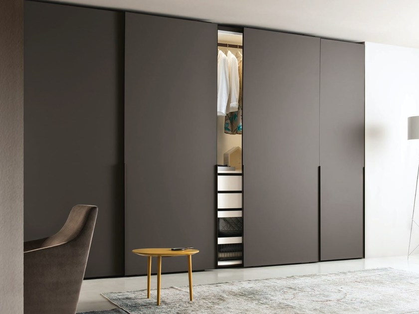 Wardrobe with sliding doors contemporary style glass wardrobe with sliding doors ghost | wardrobe with  sliding BPPOZIC